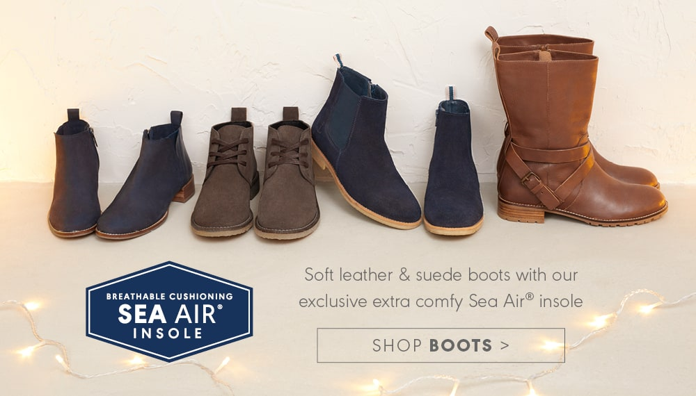 A selection of Seasalt boots