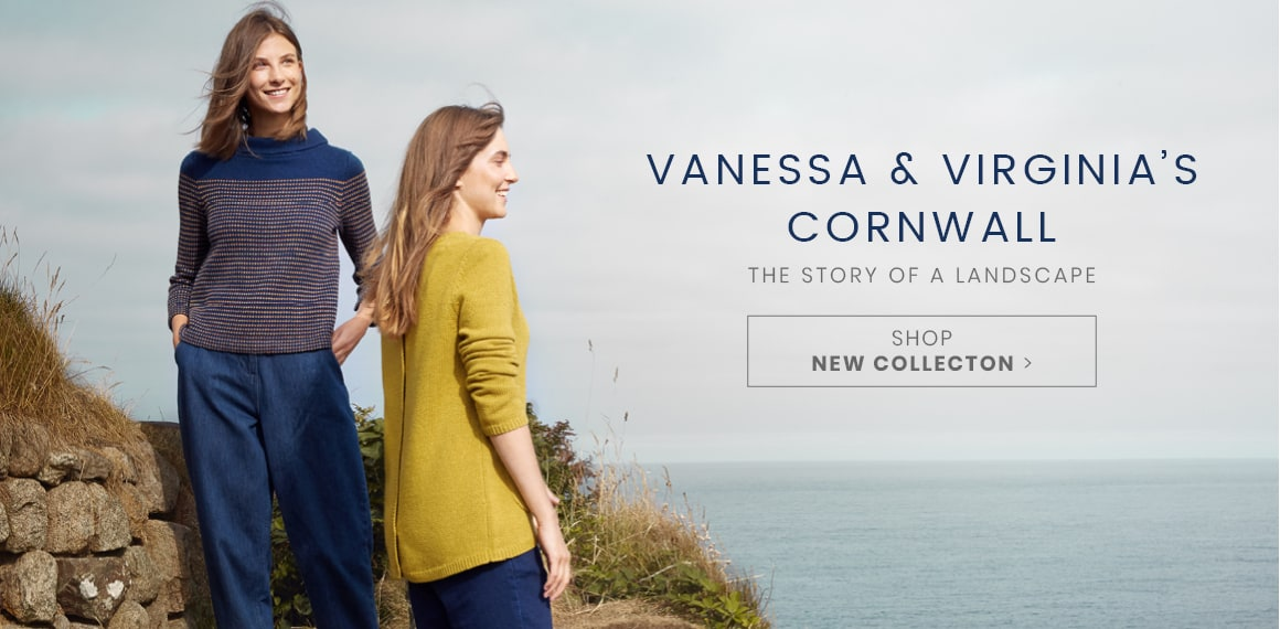 Vanessa & Virgina's Cornwall. The story of a landscape. Shop New Collection