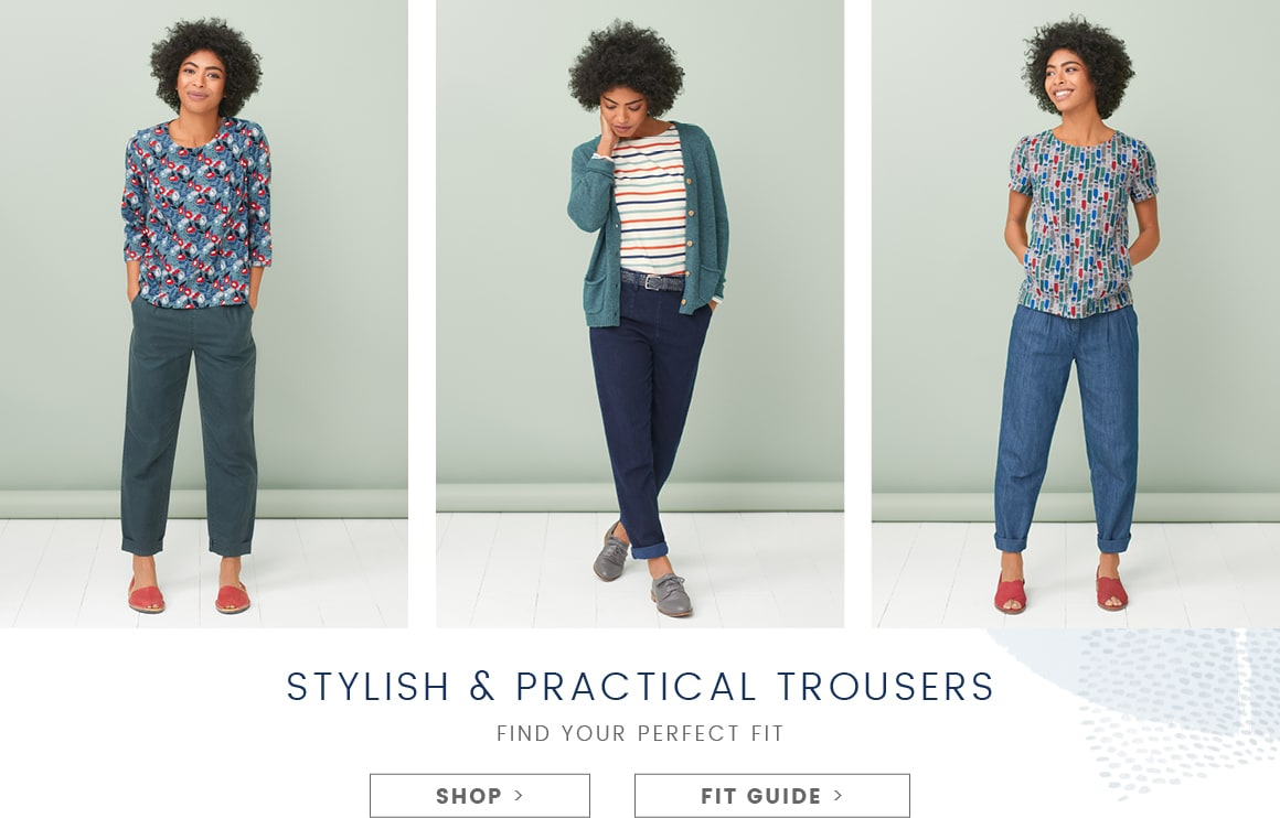 Stylish and practical trousers