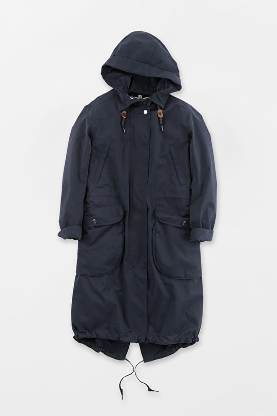 Jibe Slouchy Parka, Womens Waterproof raincoat - Seasalt
