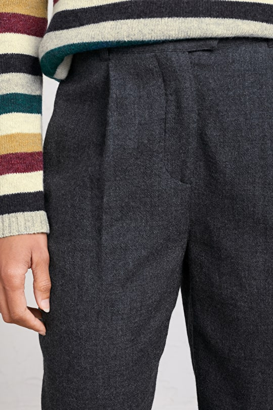 Editor Trousers, Relaxed Tapered Fit Trousers - Seasalt Cornwall