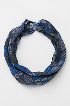 Magnetic Clasp Scarf, Cotton and Silk Handyband - Seasalt Cornwall