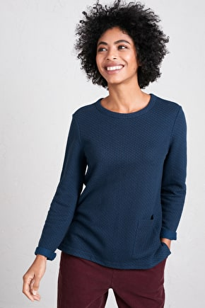 Fistral Beach Sweatshirt, Relaxed Fit Jumper - Seasalt Cornwall