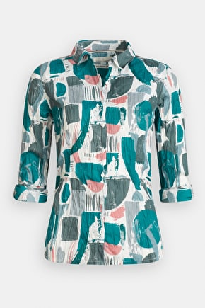 Larissa Shirt - Printed cotton floral shirt - Seasalt