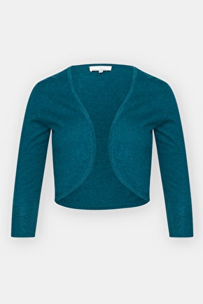 Egloskerry Cropped Cotton Knit 3/4 length Cardigan -Seasalt