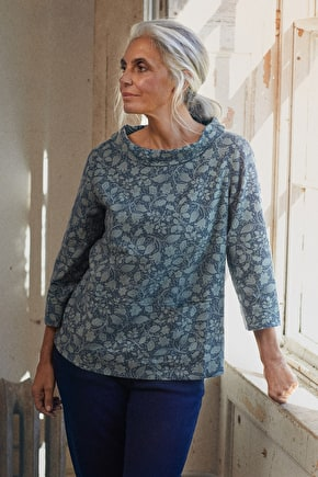 Watch Croft Top - Cotton Melange Top- Seasalt Cornwall