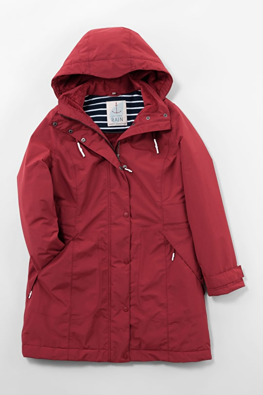 Spinnaker Raincoat. Waterproof fleece lined - Seasalt