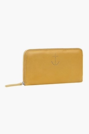 Rosenithon Leather Purse - Seasalt