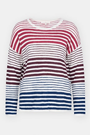Emile Jumper, Linen & Cotton Striped Sweater - Seasalt