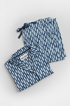 Loungewear Pyjamas. In Soft Cotton & Unique Seasalt Prints