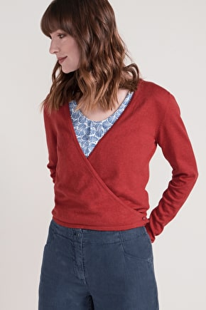 Cotton Summer Longsleeve Ballerina Style Priory Cardigan - Seasalt