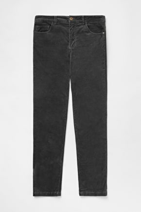 Straight Leg Slim Fit Stretchy Cord, Lamledra Trousers - Seasalt