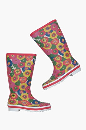 Tall Printed Wellies