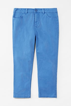 Albert Quay Crops, Cotton Twill Trousers - Seasalt