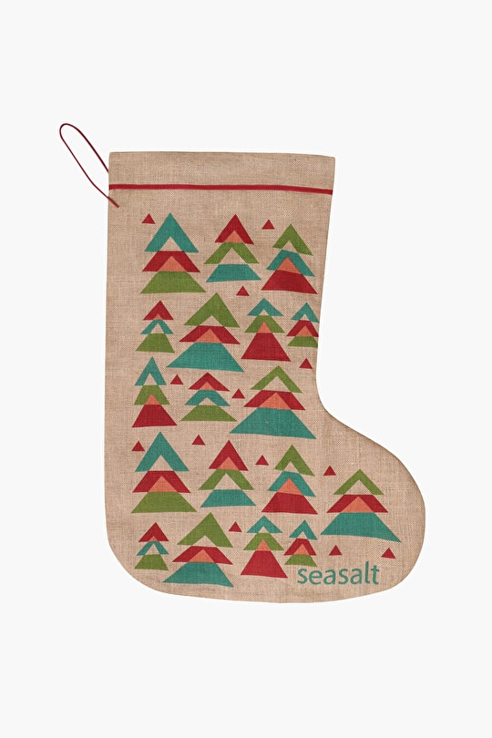 Jute Stockings In Unique Seasalt Designs. Perfect For Christmas