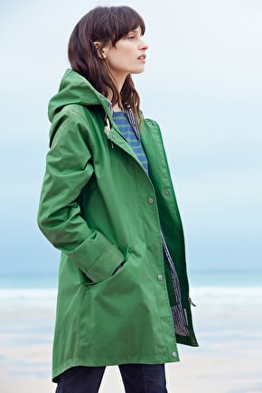 Canvas Cotton Waterproof Jacket. Seasalt RAIN® Collection