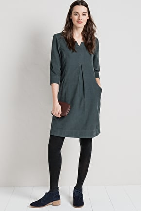 Beautifully Soft Cord Shift Dress - Seasalt