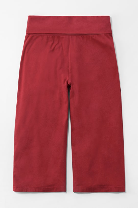 Creekside Culottes, Cotton Jersey Loose Trousers - Seasalt
