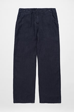 Carhales Trousers, Wide Linen Trousers - Seasalt Cornwall