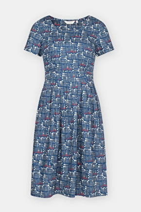 Viewfinder Cotton Poplin Dress - Seasalt