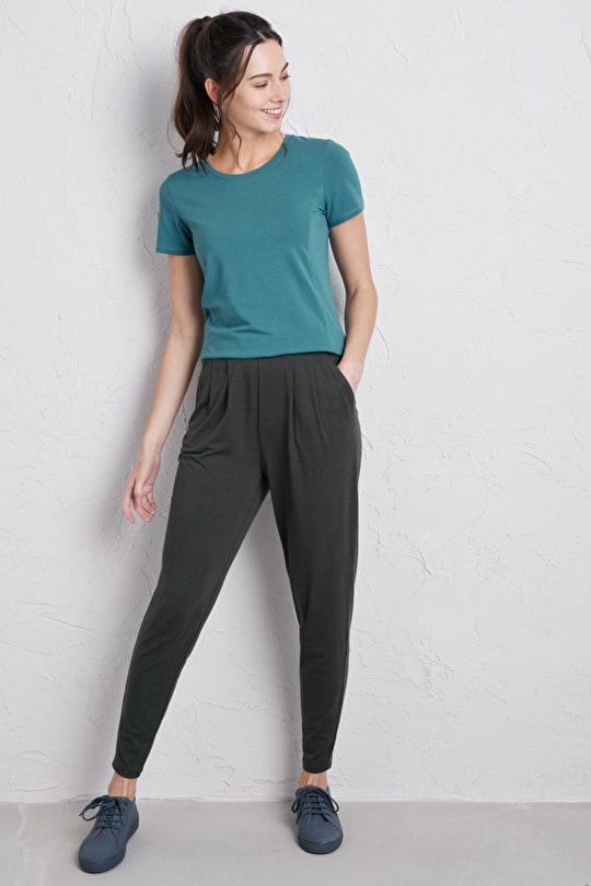 Hazy Light T-shirt, Stretchy Bamboo Cotton Top - Seasalt Cornwall