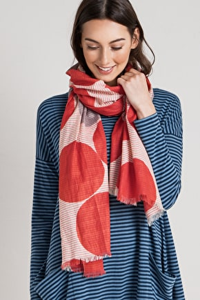 Whimbrel Yarn Dyed Striped Scarf - Seasalt