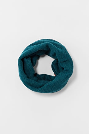 Merino & Cashmere Reversible Snood - Seasalt