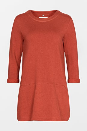 Super Soft Tunic Top. Lovely Long Sweatshirt Style - Seasalt
