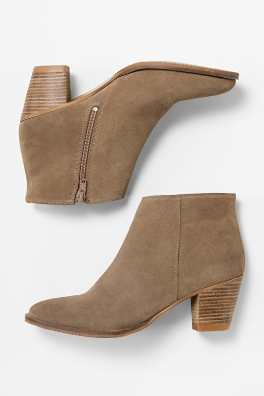 Gracie Ankle Boots | Suede ankle boots | Seasalt