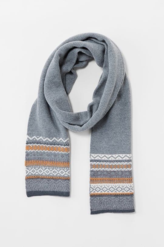 Merino, Cashmere Scarf. Perfect For Winter - Seasalt