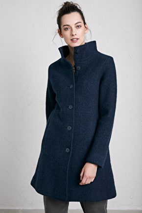 Falmouth Dawn Wool Coat - Seasalt