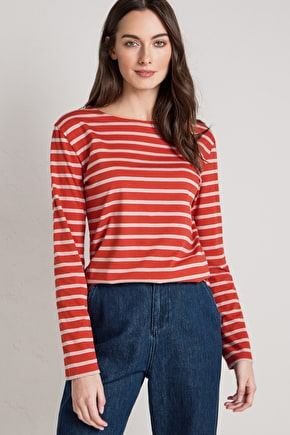 2 for £40 Breton Stripe Tops. A Seasalt Bestseller In Organic Cotton