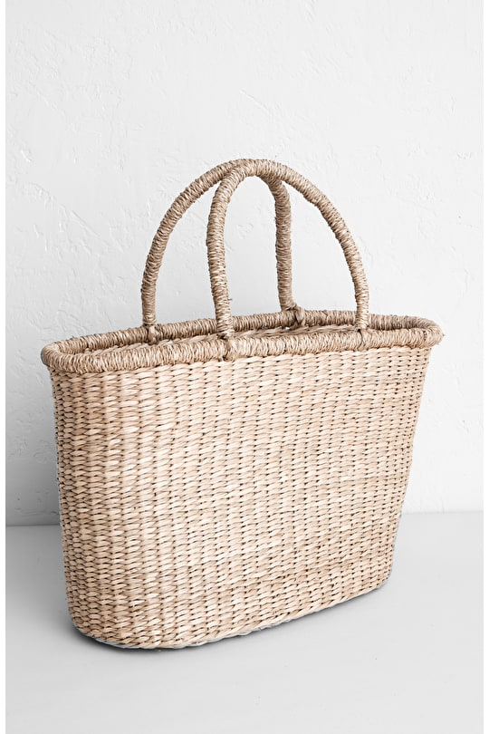 Small Coast Path Basket - Seasalt