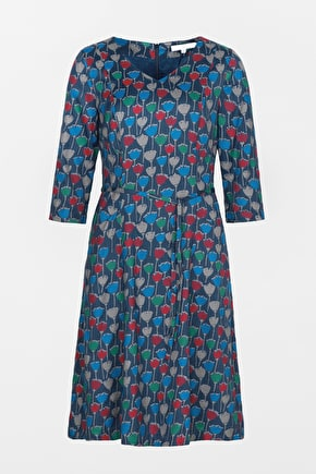 Pretty Twill Dress, In Unique Seasalt Prints