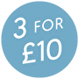 3 for £10