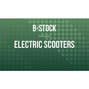 B-Stock Electric Scooters