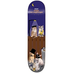 Enjoi R7 Alley Cats Skateboard Deck - Wieger 8.375''