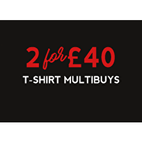 T-Shirt Multibuys: 2 For £40