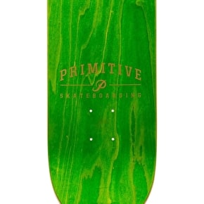 Primitive Gold Peacock Skateboard Deck - 8.1