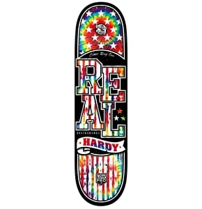 Real Skateboard Deck - Low Pro II Easy Rider Hardy 8.25