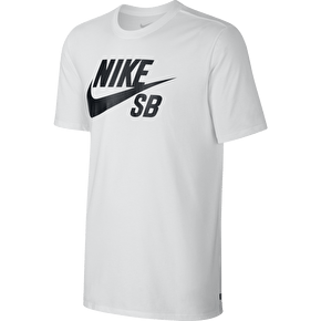 Nike SB Logo T-Shirt - White/Black