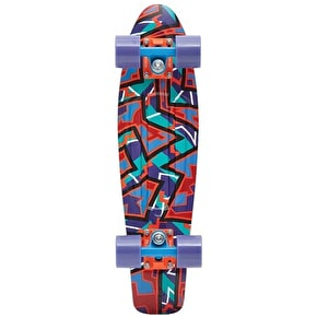 Penny Fresh Prints Complete Skateboard - Spike 22