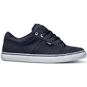 DVS Barton Shoes - Navy Canvas