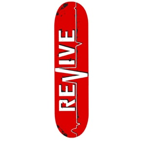 ReVive Lifeline Skateboard Deck - Red