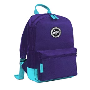 Hype Mini Backpack-Purple/Light Blue