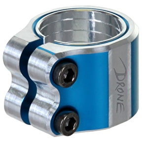Drone Contrast Double Collar Clamp - Blue