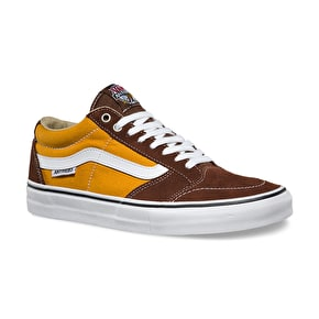 Vans TNT SG Skate Shoes - (Anti Hero) Brown
