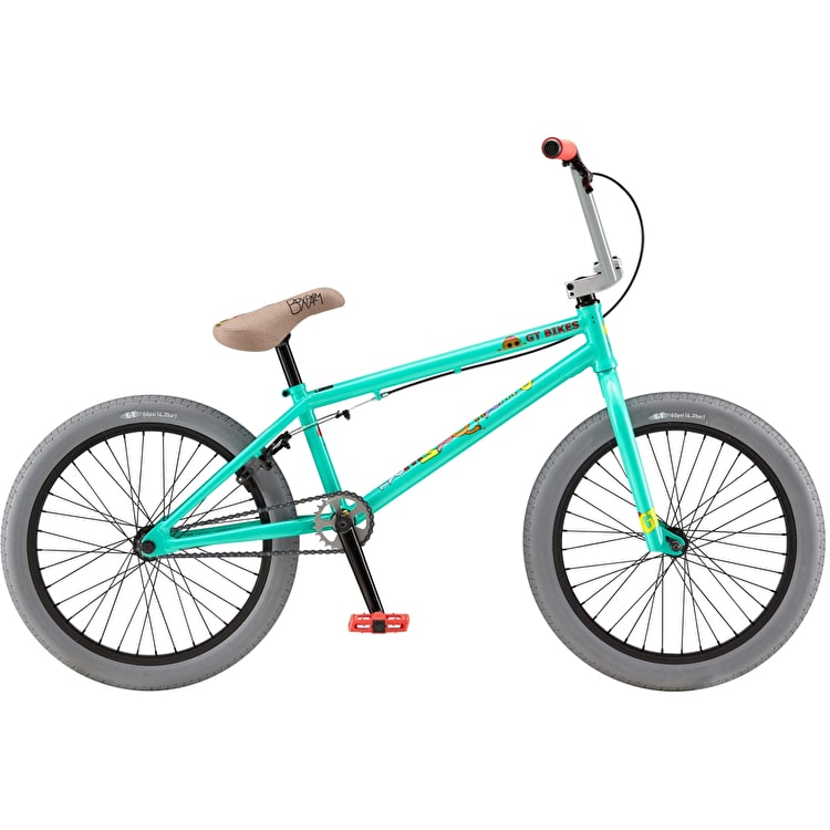 "GT 20"" Performer 2019 Complete BMX Bike - Pitch Green"