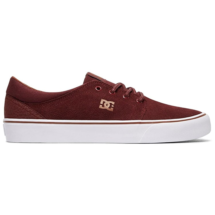 DC Trase SD Skate Shoes - Burgundy