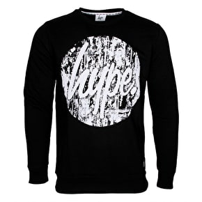 Hype Gritty Circle Crewneck - Black